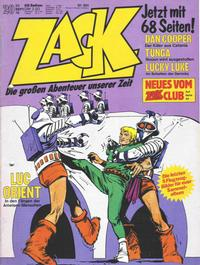 Cover Thumbnail for Zack (Koralle, 1972 series) #20/1976