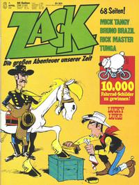 Cover Thumbnail for Zack (Koralle, 1972 series) #8/1977