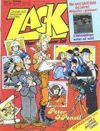 Cover for Zack (1972 series) #21/1979