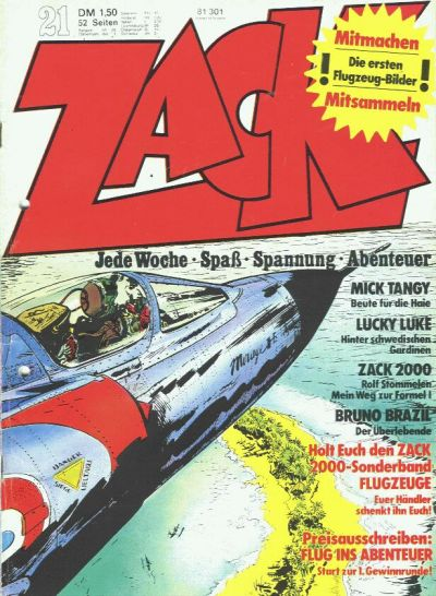 Cover for Zack (1972 series) #21/1973