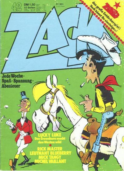 Cover for Zack (Koralle, 1972 series) #42/1973