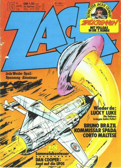 Cover for Zack (Koralle, 1972 series) #15/1974