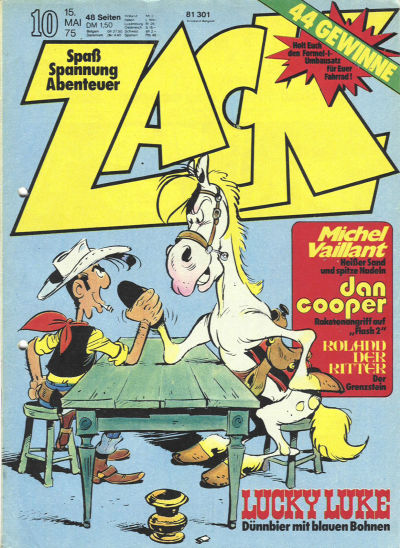 Cover for Zack (1972 series) #10/1975