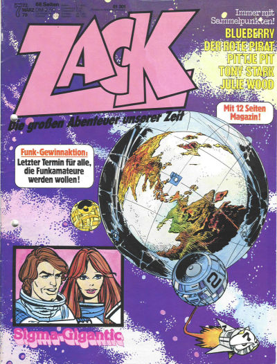 Cover for Zack (Koralle, 1972 series) #7/1979