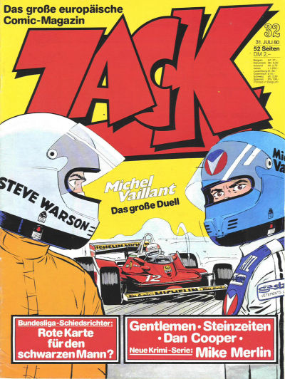 Cover for Zack (Koralle, 1972 series) #32/1980