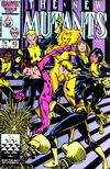 Cover Thumbnail for The New Mutants (1983 series) #43 [direct]