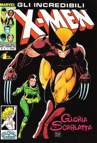 Cover Thumbnail for Gli Incredibili X-Men (Edizioni Star Comics, 1990 series) #5