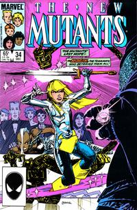 Cover Thumbnail for The New Mutants (Marvel, 1983 series) #34