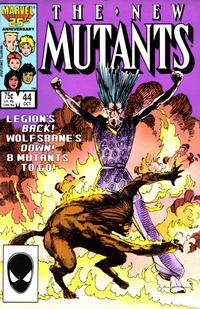 Cover Thumbnail for The New Mutants (Marvel, 1983 series) #44