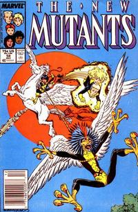Cover Thumbnail for The New Mutants (Marvel, 1983 series) #58 [Newsstand Edition]