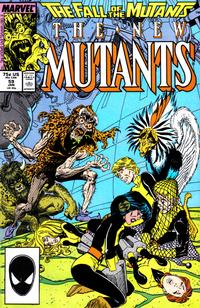 Cover Thumbnail for The New Mutants (Marvel, 1983 series) #59 [Direct Edition]