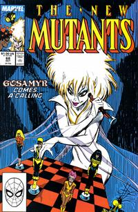 Cover Thumbnail for The New Mutants (Marvel, 1983 series) #68 [Direct Edition]