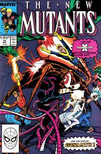 Cover Thumbnail for The New Mutants (Marvel, 1983 series) #74
