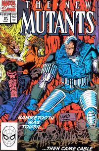 Cover Thumbnail for The New Mutants (Marvel, 1983 series) #91