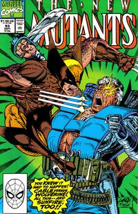 Cover Thumbnail for The New Mutants (Marvel, 1983 series) #93