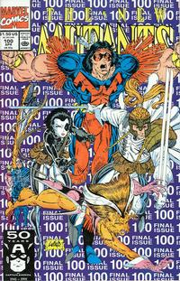 Cover Thumbnail for The New Mutants (Marvel, 1983 series) #100