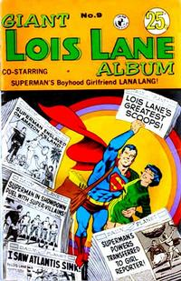 Cover Thumbnail for Giant Lois Lane Album (K. G. Murray, 1964 ? series) #9