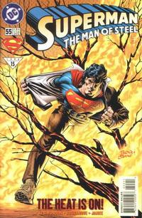 Cover Thumbnail for Superman: The Man of Steel (DC, 1991 series) #55