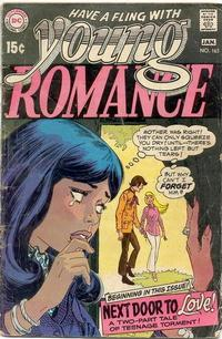Cover for Young Romance (DC, 1963 series) #163