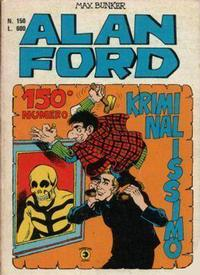 Cover Thumbnail for Alan Ford (Editoriale Corno, 1969 series) #150