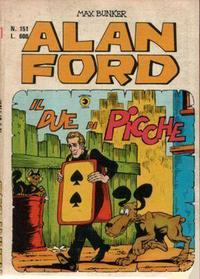 Cover Thumbnail for Alan Ford (Editoriale Corno, 1969 series) #151