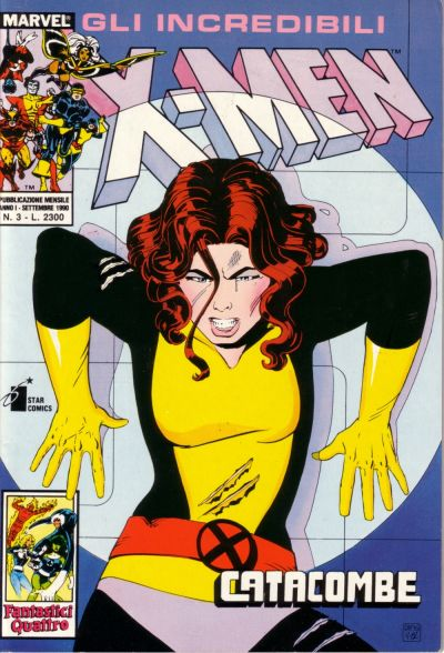 Cover for Gli Incredibili X-Men (Edizioni Star Comics, 1990 series) #3