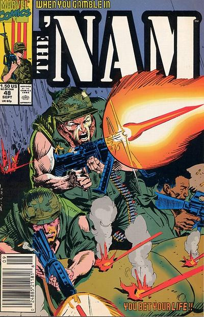 Cover for The &#39;Nam (1986 series) #48