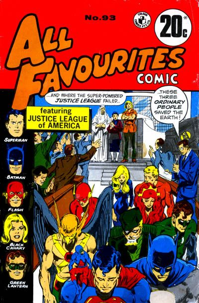 Cover for All Favourites Comic (K. G. Murray, 1960 series) #93