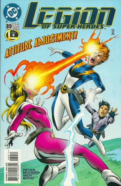 Cover for Legion of Super-Heroes (DC, 1989 series) #89