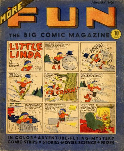 Cover for More Fun (DC, 1936 series) #7