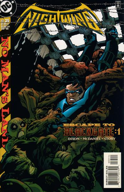 Cover for Nightwing (DC, 1996 series) #35