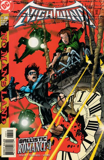 Cover for Nightwing (DC, 1996 series) #38 [Direct Sales]