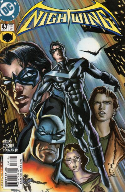 Cover for Nightwing (DC, 1996 series) #47 [Direct Sales]