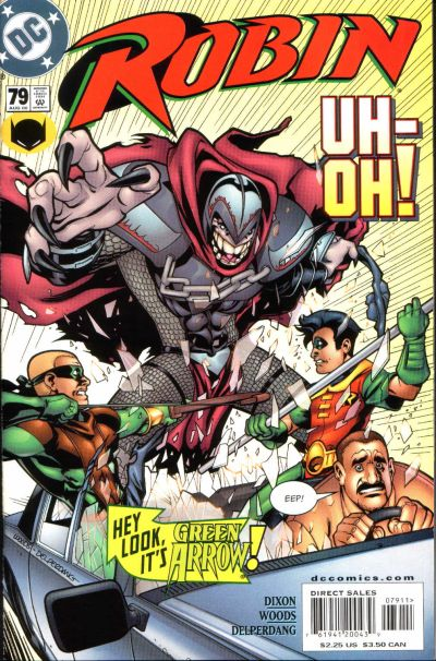 Cover for Robin (DC, 1993 series) #79