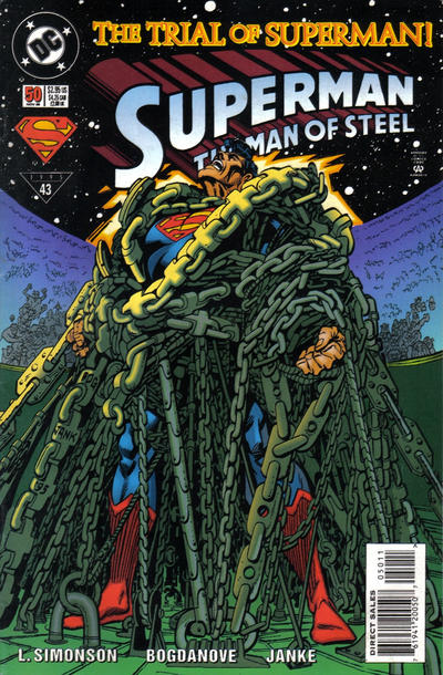 Cover for Superman: The Man of Steel (1991 series) #50