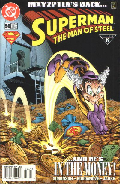 Cover for Superman: The Man of Steel (DC, 1991 series) #56