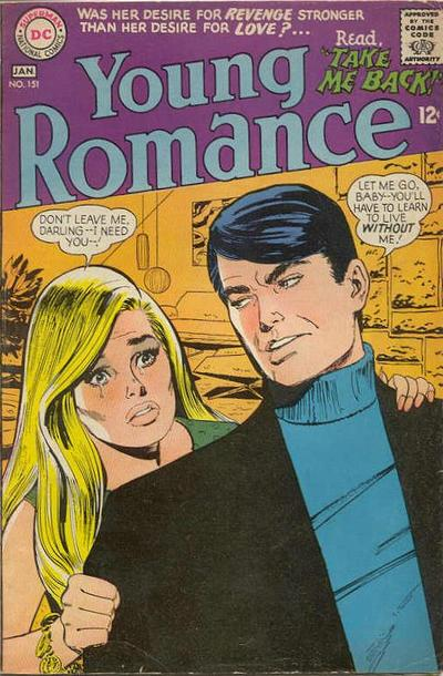 Cover for Young Romance (1963 series) #151