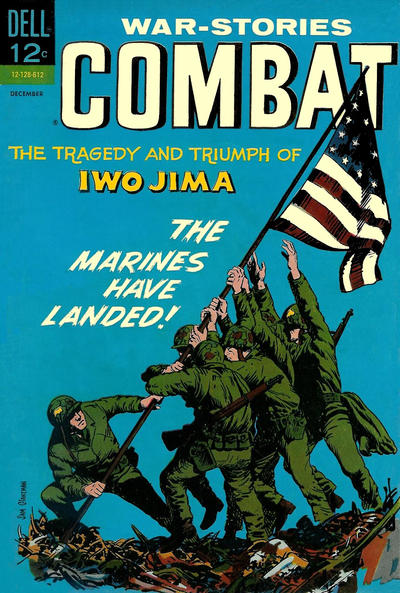 Cover for Combat (Dell, 1961 series) #22