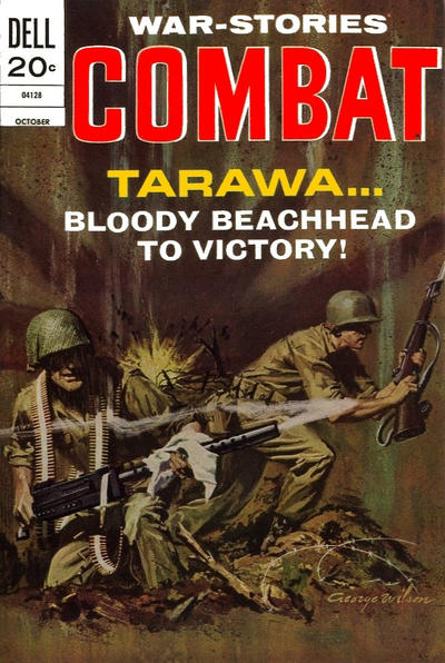 Cover for Combat (1961 series) #40