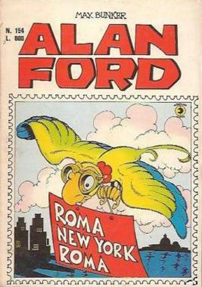 Cover for Alan Ford (Editoriale Corno, 1969 series) #154