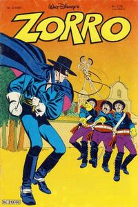 Cover Thumbnail for Zorro (Hjemmet, 1980 series) #3/1980