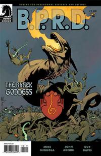 Cover Thumbnail for B.P.R.D.: The Black Goddess (Dark Horse, 2009 series) #4