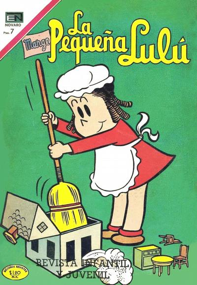 Cover for La Pequeña Lulú (Editorial Novaro, 1951 series) #284