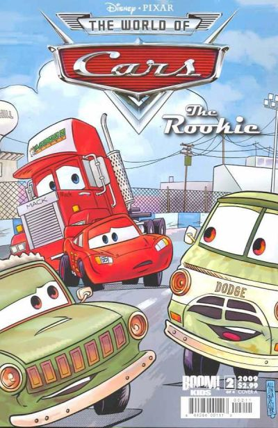 Cover for Cars: The Rookie (Boom! Studios, 2009 series) #2 [Cover C]