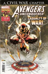 Cover Thumbnail for Avengers Unconquered (Panini UK, 2009 series) #3