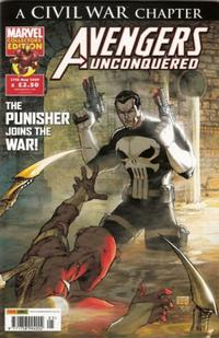 Cover Thumbnail for Avengers Unconquered (Panini UK, 2009 series) #5