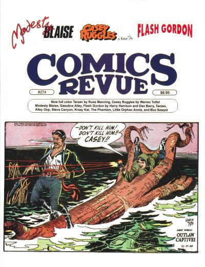 Cover for Comics Revue (Manuscript Press, 1985 series) #274