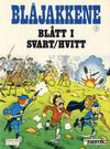 Cover for Blåjakkene (Semic, 1987 series) #1 - Blått i svart/hvitt