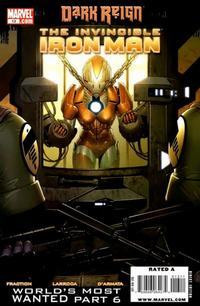 Cover Thumbnail for Invincible Iron Man (Marvel, 2008 series) #13