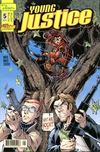 Cover for Young Justice (Dino Verlag, 2000 series) #5